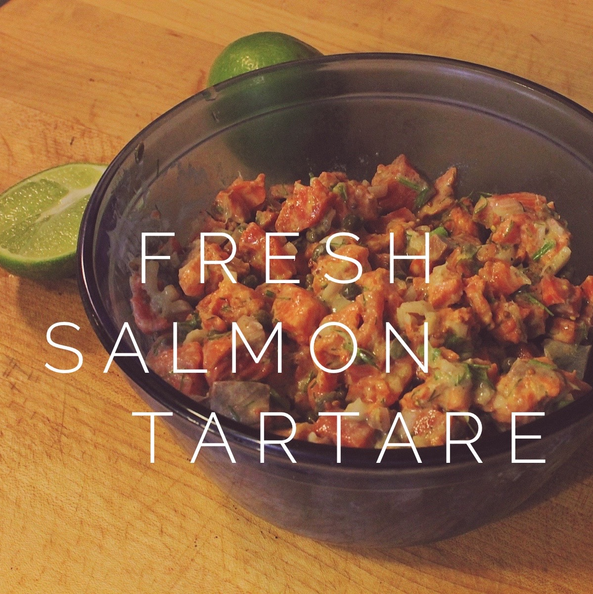 Easy Salmon Tartare Recipe for Your ...